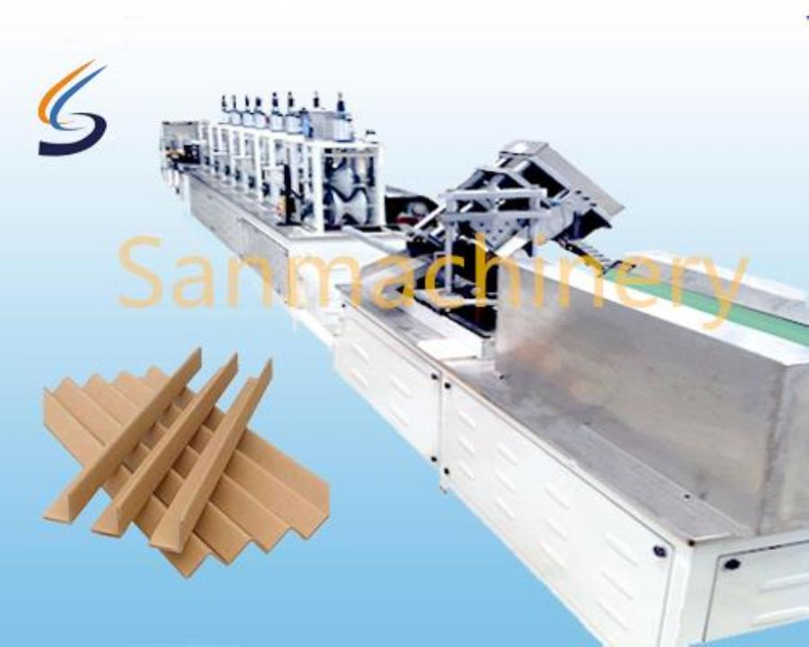 Paper Corner Board Making Machine