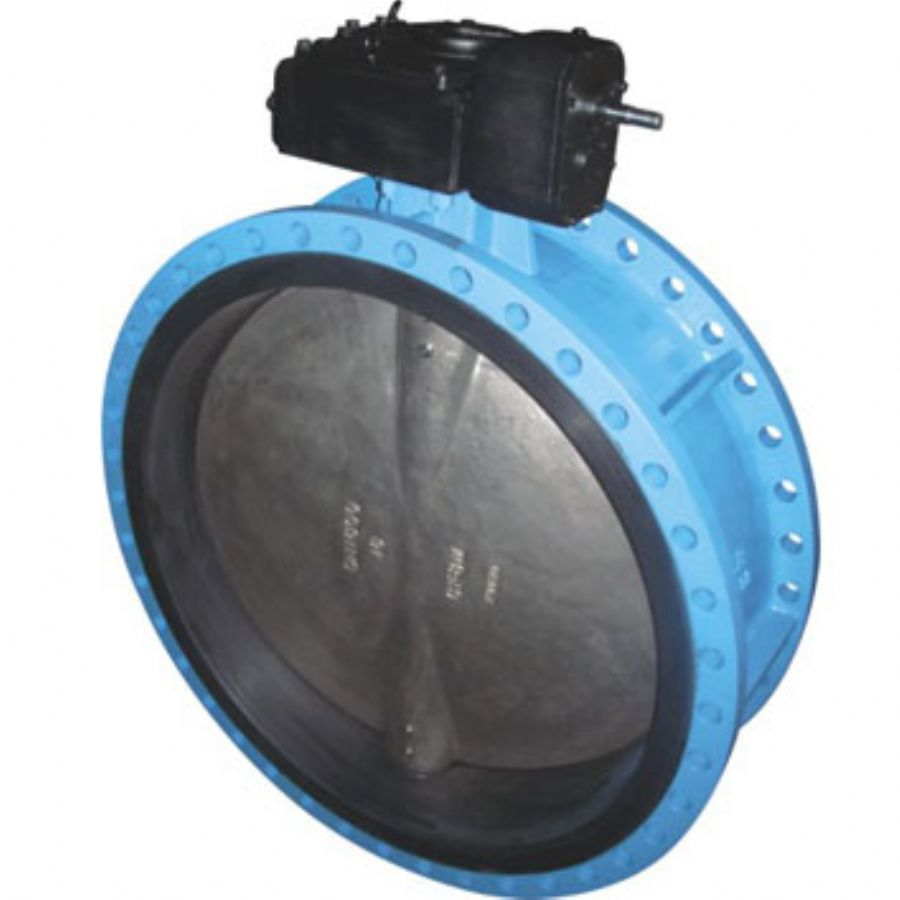 Rubber Lined Concentric Butterfly Valve