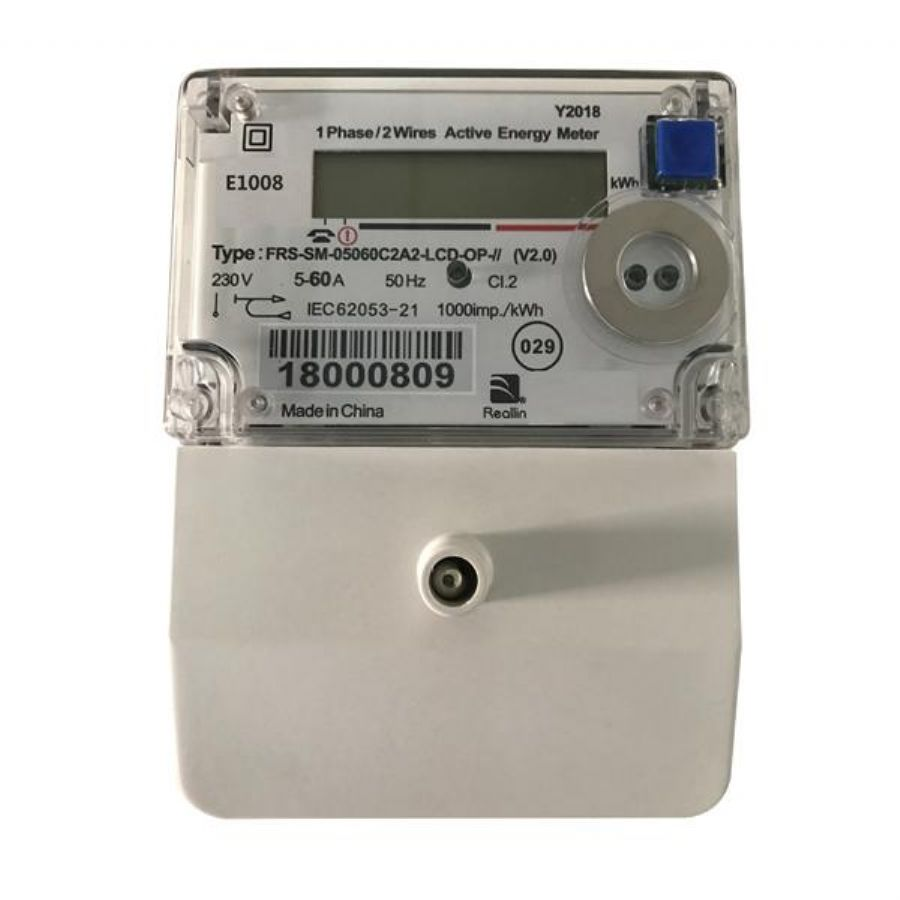 Single Phase Conventional Electricity Meter