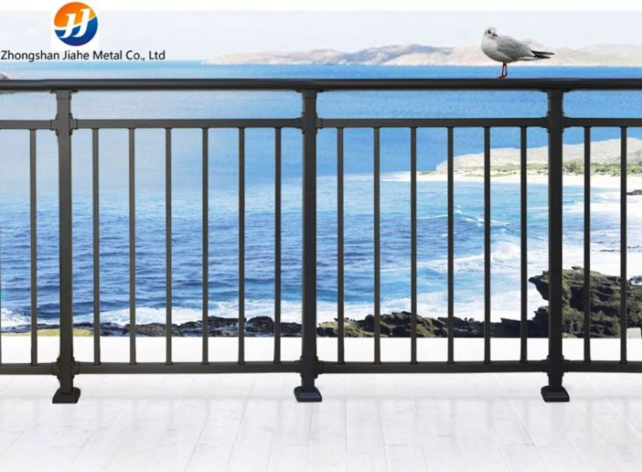 Galvanized Steel Balcony Railing
