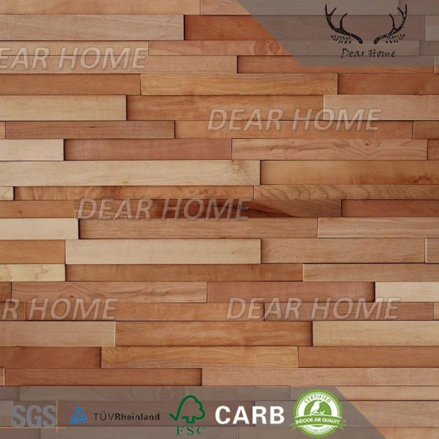 3D Decorative Wood W