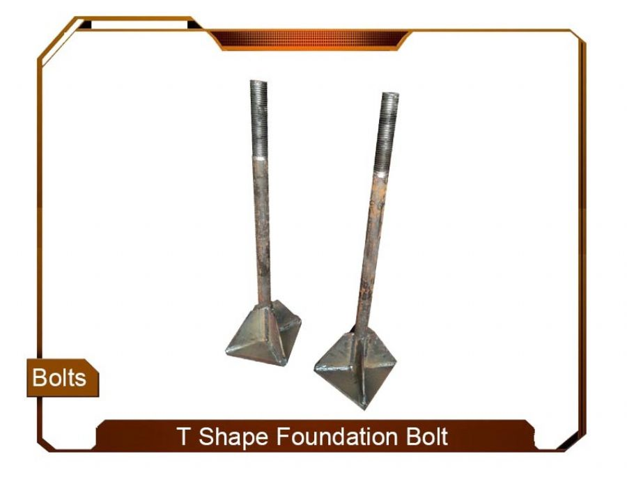 T Shape Foundation Bolt