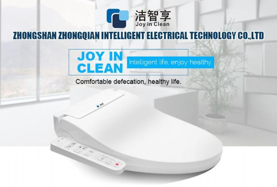 Heated Straight Handle Smart Toilet Seat