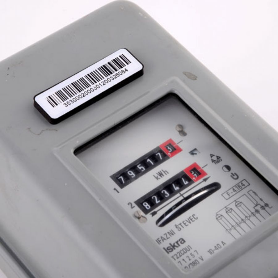 Electric Meter On - metal Seal Tag