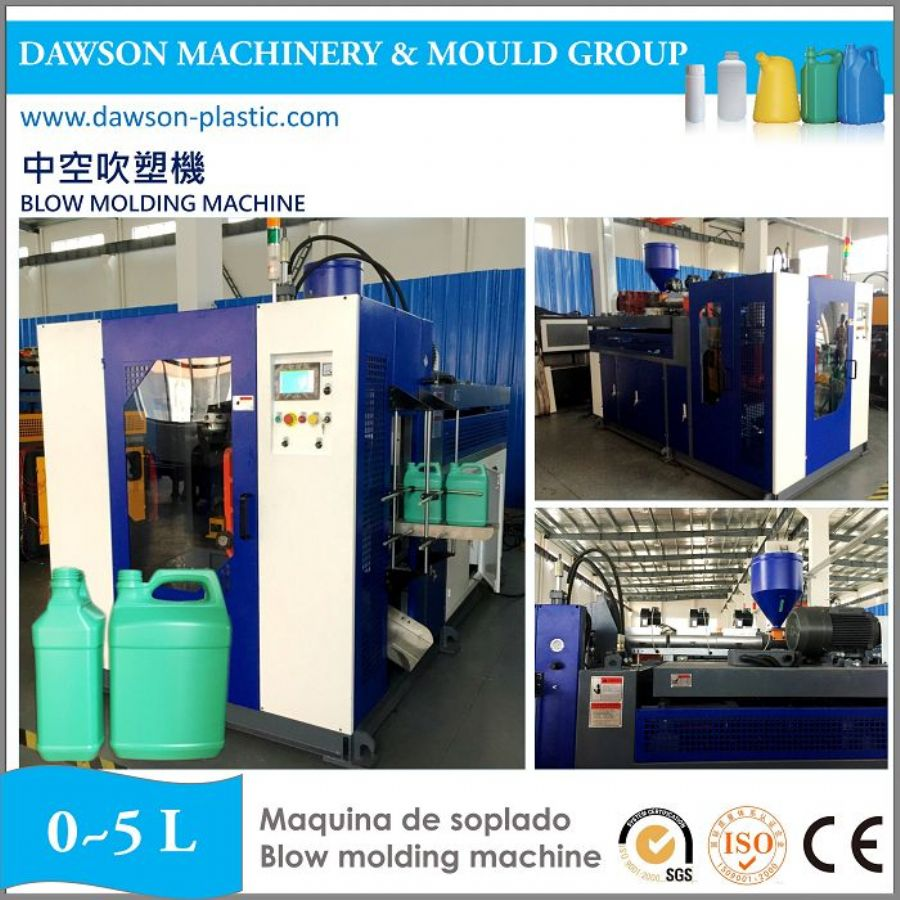 PE Bottles Blow Molding Machine