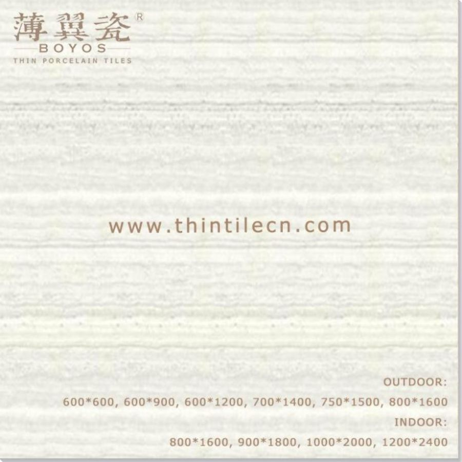 Grey Marble Polished Thin Porcelain Wall Tiles