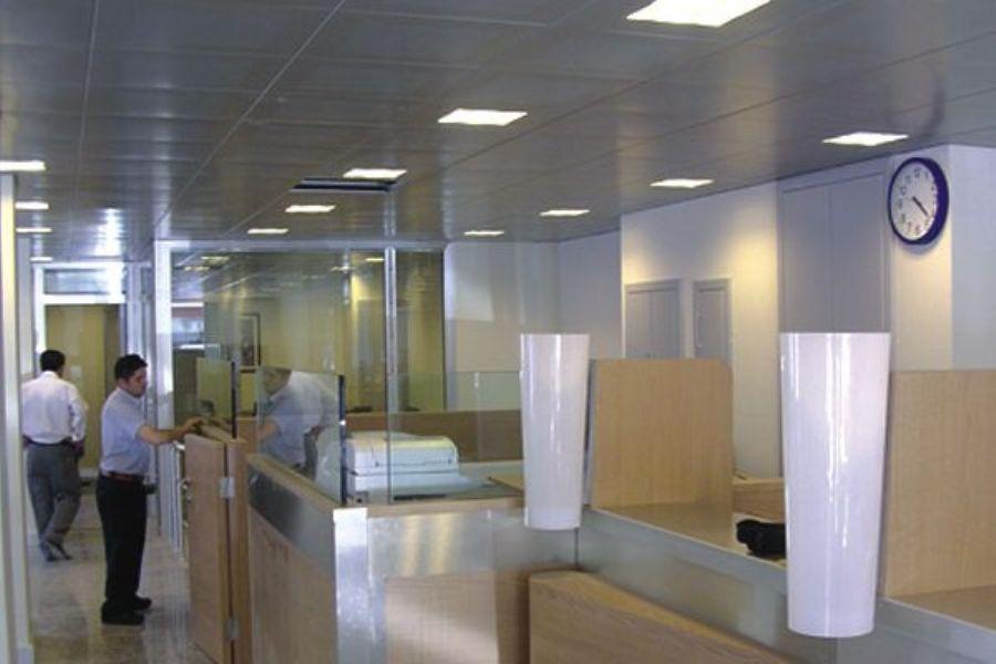 Banka dekorasyonu