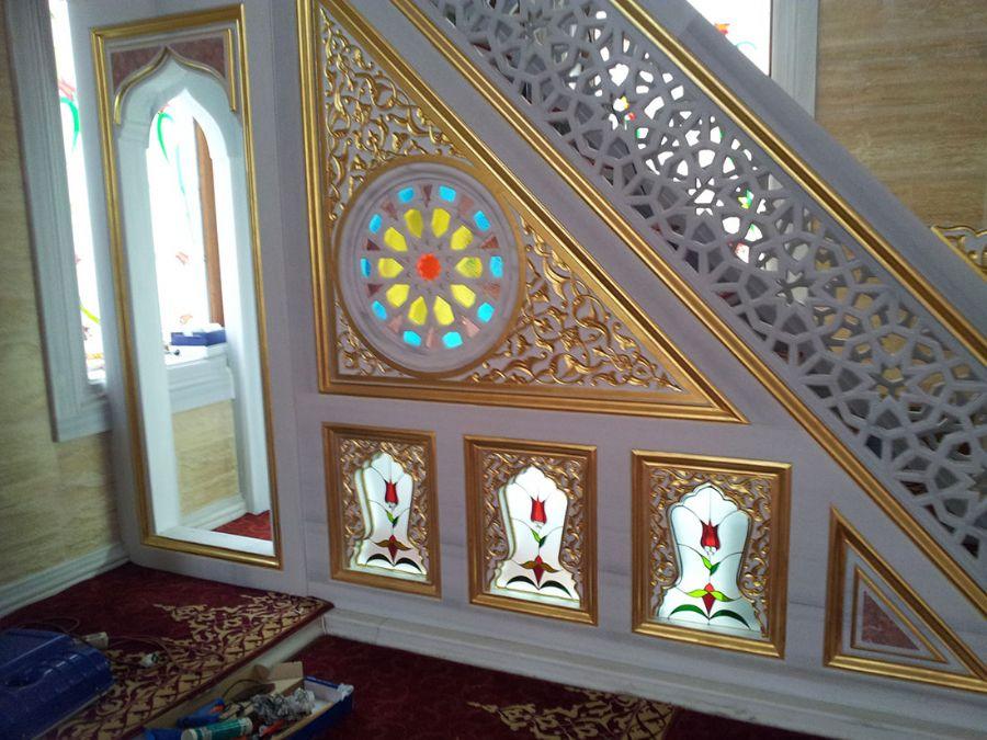Cami Vitray Çalışmaları