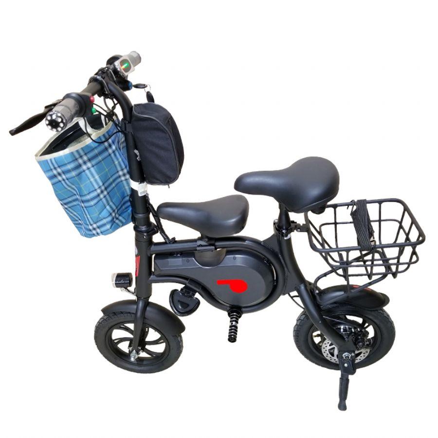 E-bike, mini electric foldable bike, convenient for short trips, multiple accessories