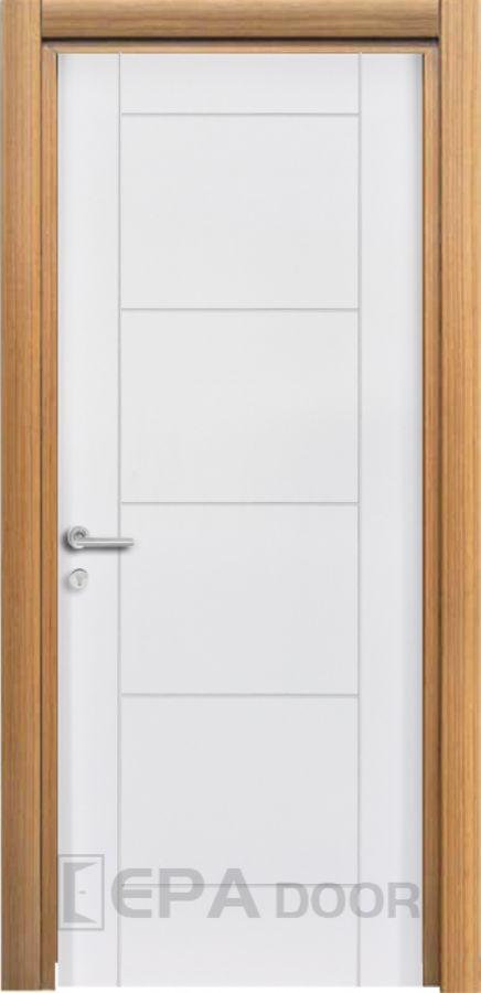 Panel Kapılar EPA 108 Lake ve Teak Kaplama Kombinasyon