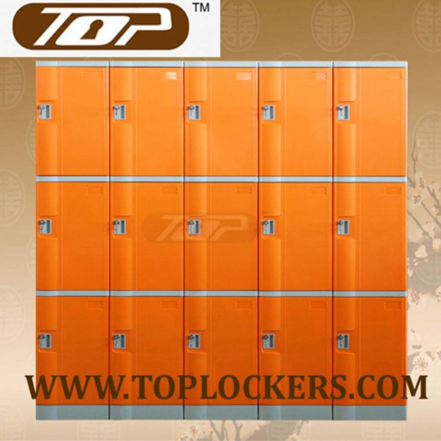 Triple Tier ABS Plastic Cabinets