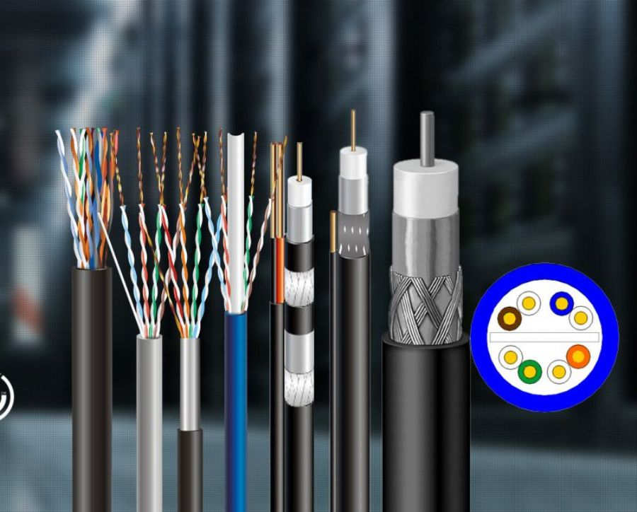 Coaxial Cable Lan Cable SANYUAN CABLE