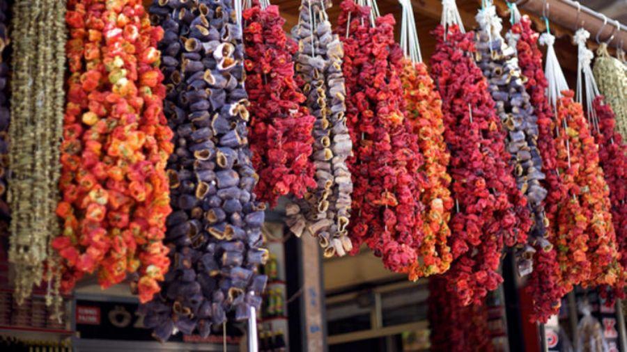 kurutulmuş sebzeler ve gıda katkı maddeleri