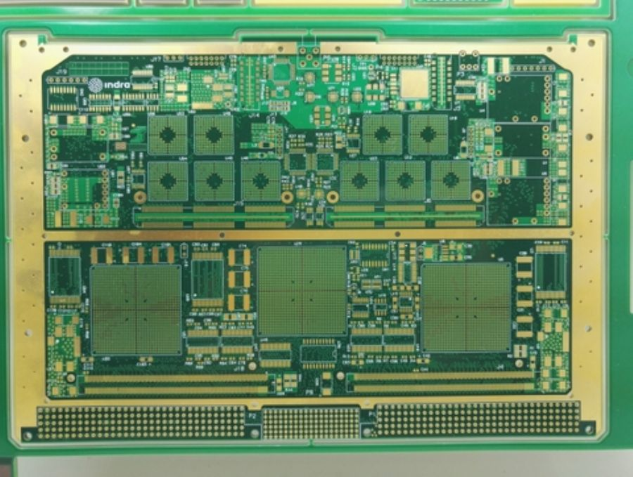 16_layer_hybrid_PCB_made_by_Isola_material,_will_blind_via_and_back_drill