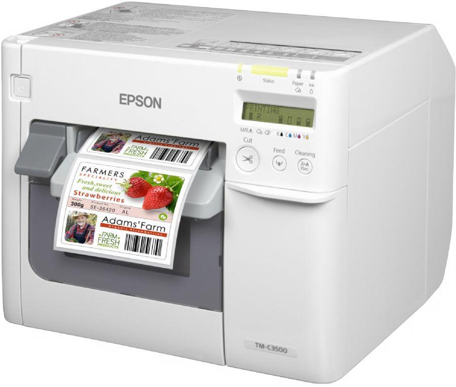 Epson Color Works C3500 Inkjet Renkli Etiket Yazıcı