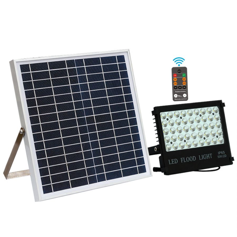 L400 - Garden Power Display Solar Spotlight - Remote Control Edition