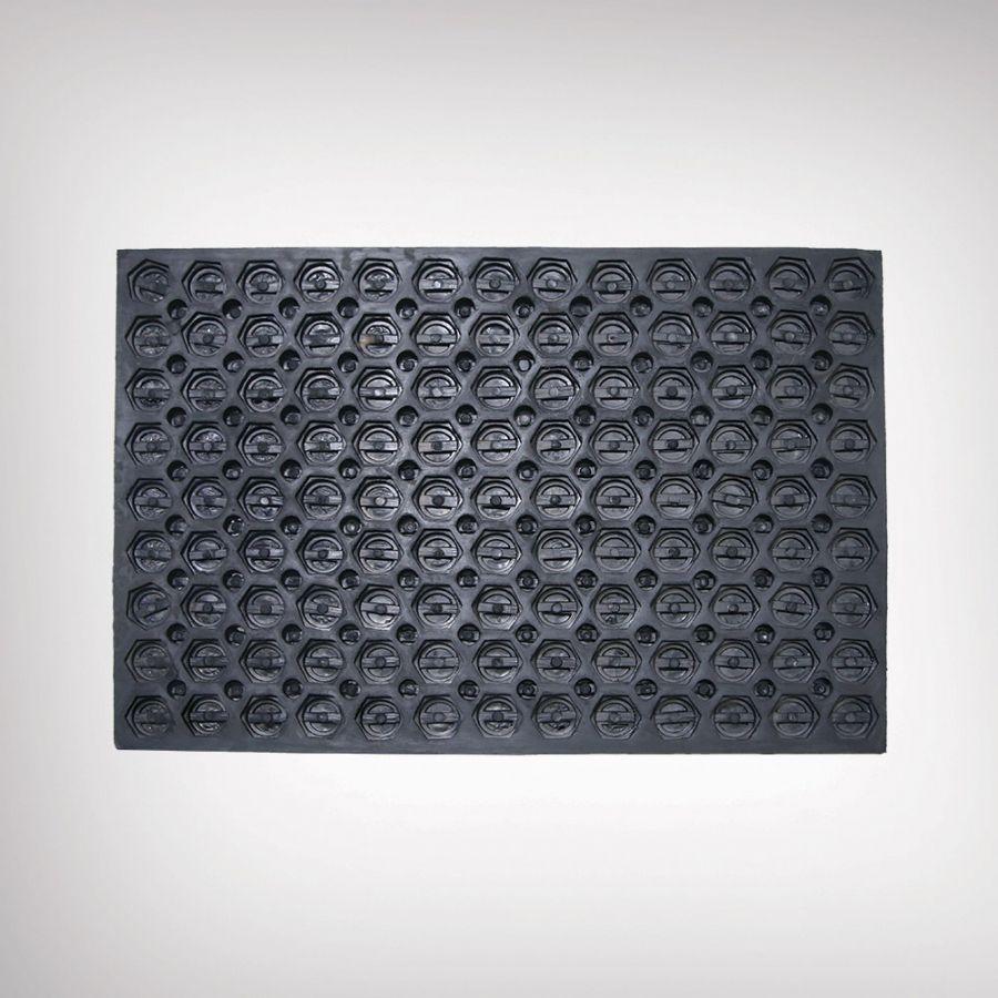 Honeycomb Texture Rubber Matt