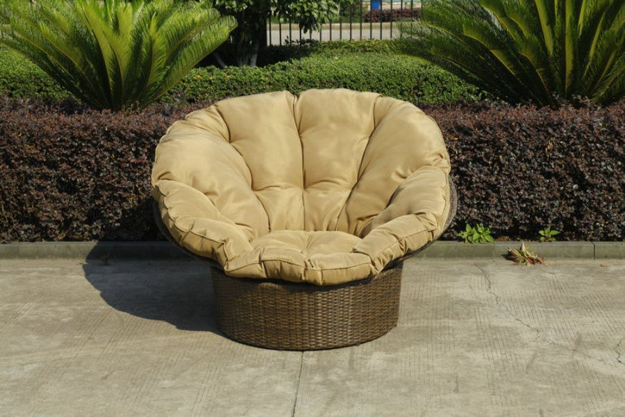 Home_Garden_Wicker_Lazy_Chair_With_Powder_Coated_Aluminium_Frame