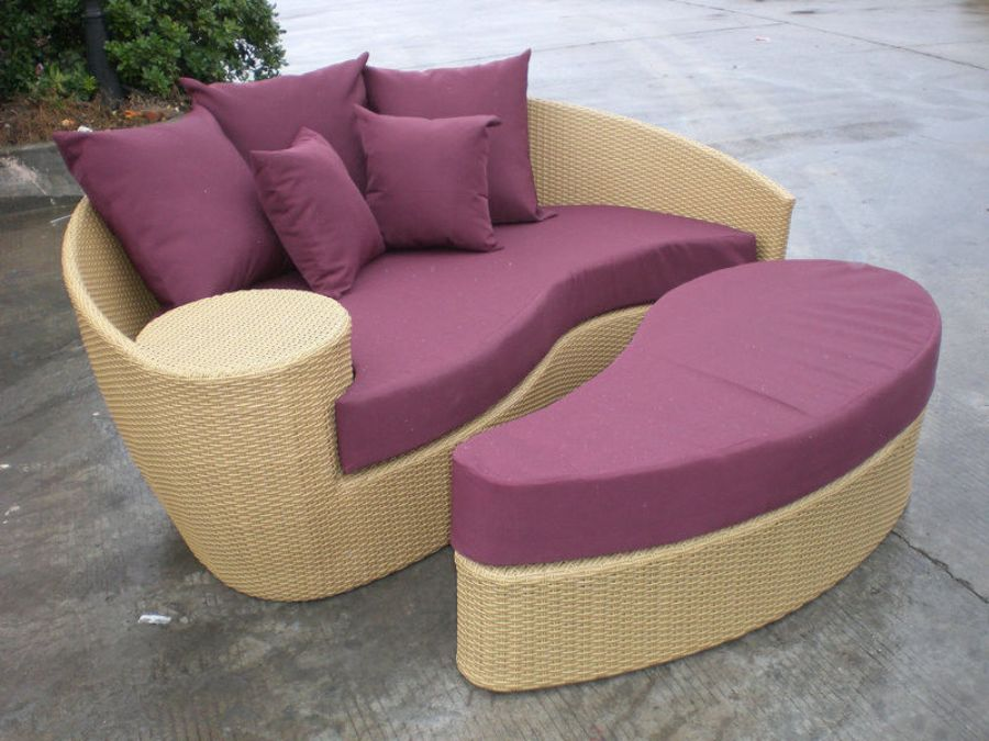 Fashion_Brown_Outdoor_Rattan_Daybed_,_Garden___Patio_Furniture