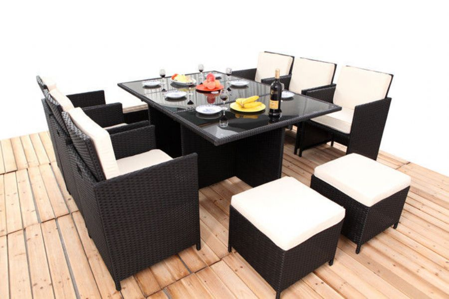 Outdoor Rattan Dinin