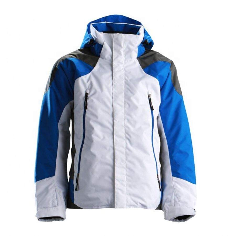 waterproof breathable nylon ski jacket windproof snowproof hoody ski jacket out door active ski coat