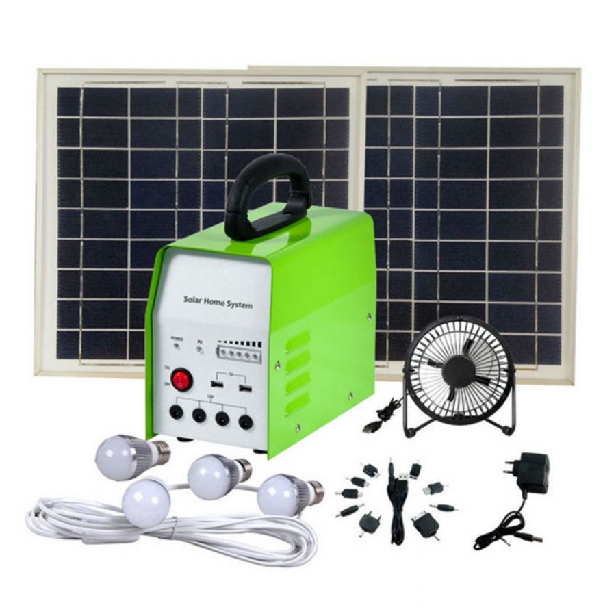 DC_Solar_Home_Light_System