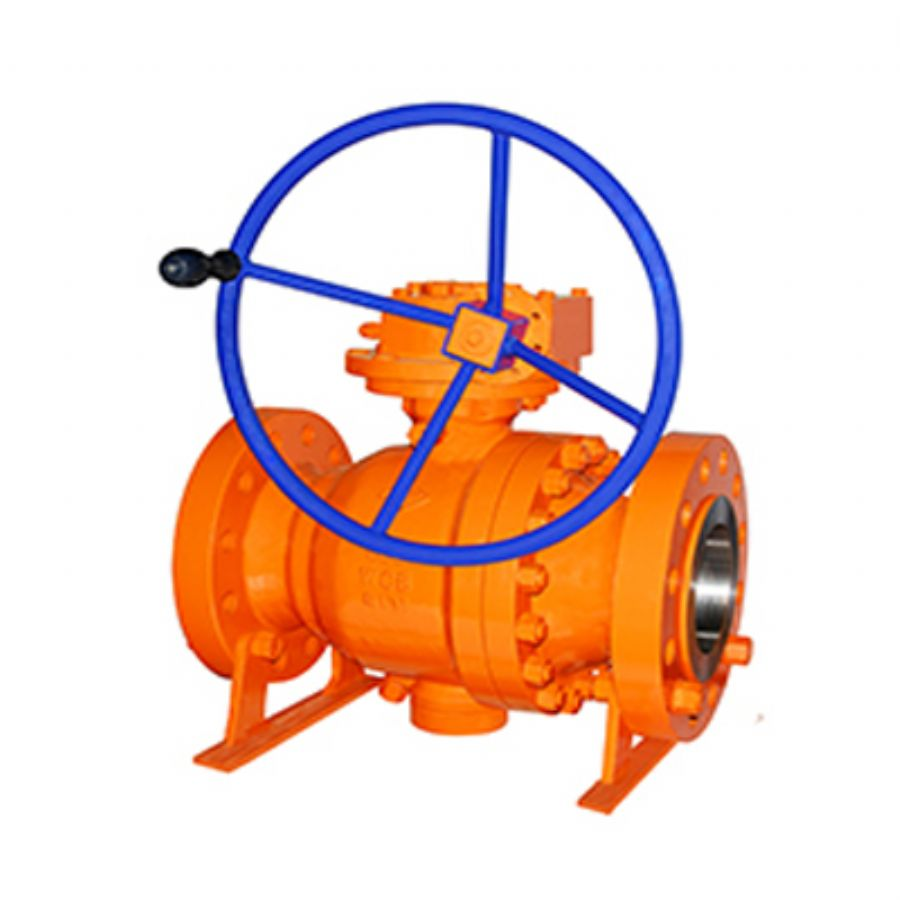 Cast Steel Trunnion Mounted Ball Valves: API 608, API 6D