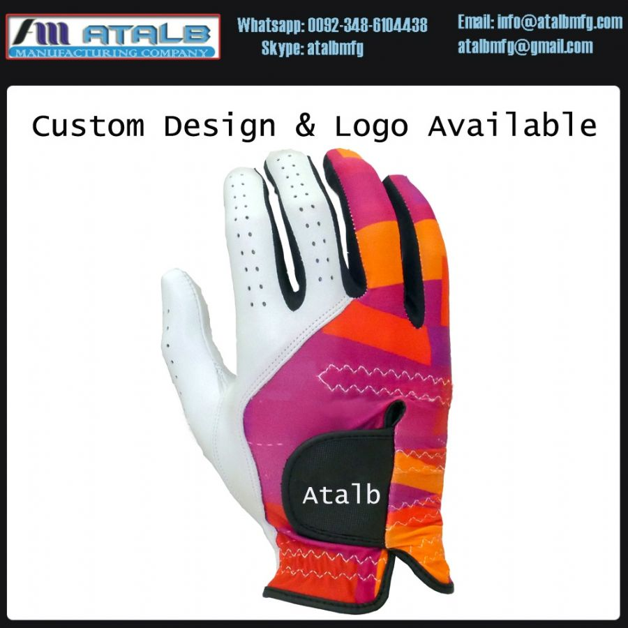waqar younas golf gloves