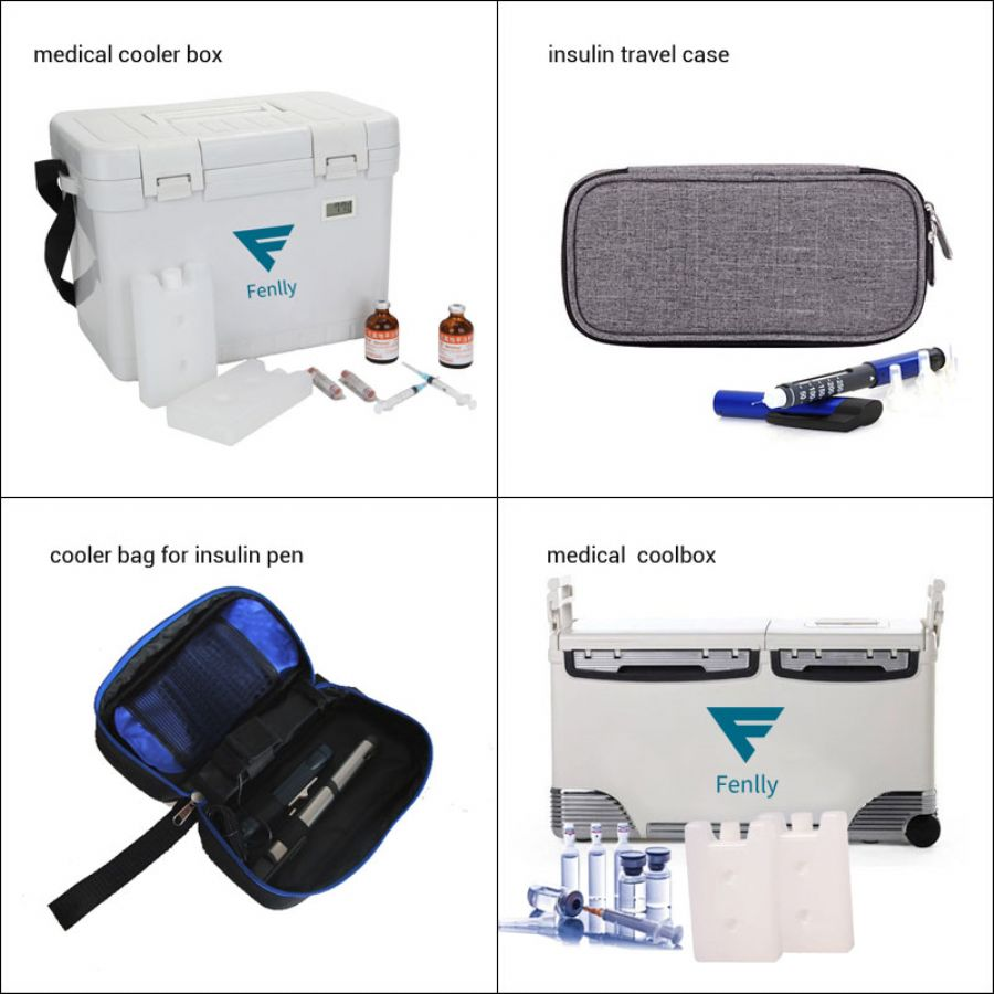 Medical Cooler Box, Insulin Travel Case