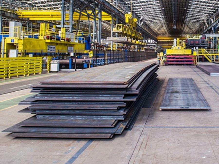 Steel Plates round b