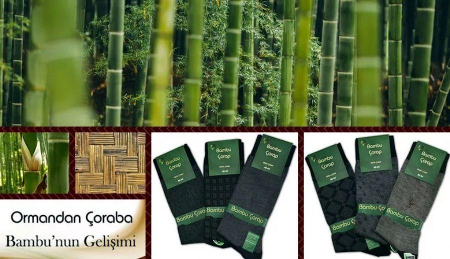 Yerli Bambu Çorap