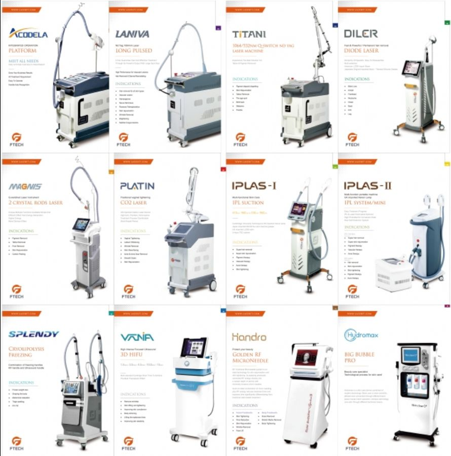 FTECH laser beauty equipment