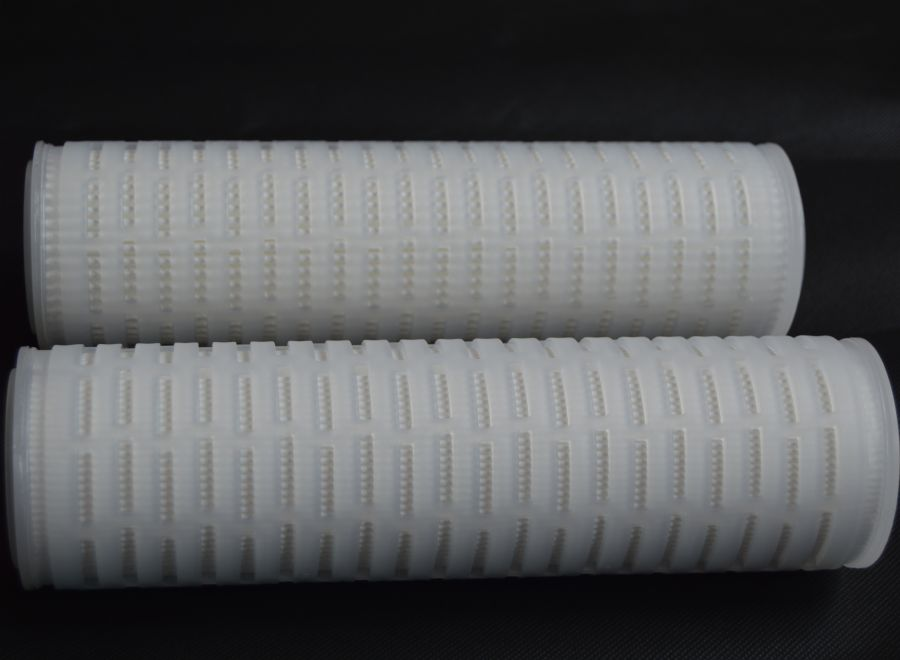 high efficiency  high dirty  holding capacity Pleated PP filter cartridge