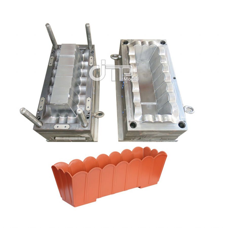 PLASTIC FLOWERPOT LONG MOULD (JTP-A0114)