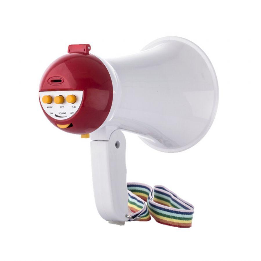 UM501R Mini Megaphone with Siren Portable Bullhorn