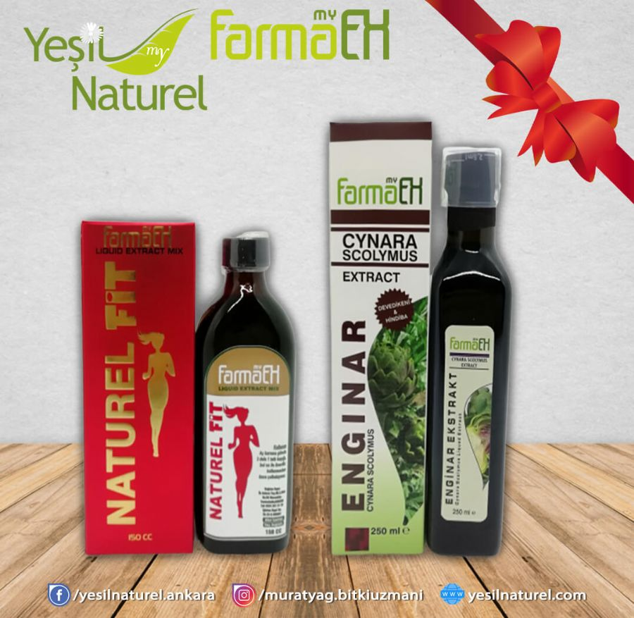 Naturel Fit Ekstrakt (Zay�flama) + Enginar Ekstrakt�