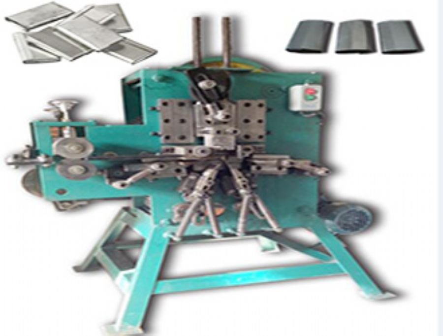 SEMIAUTOMATIC STEEL STRAPPING SEAL MACHINE