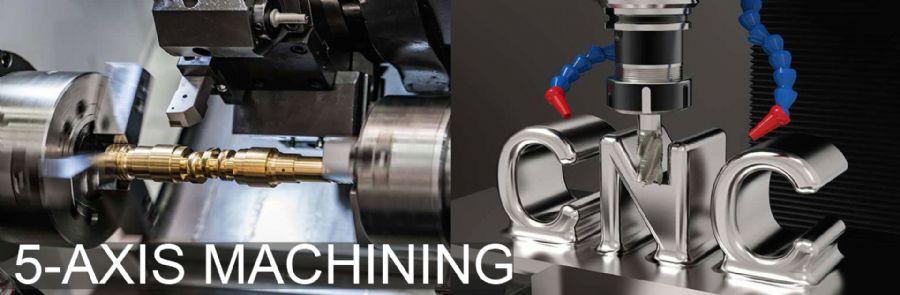 5-axis machining(five axis machining), a mode of CNC machine tool machining