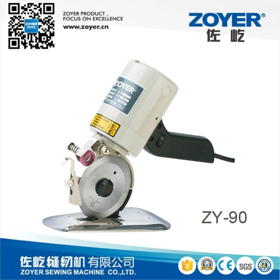 portable round cutting sewing machine