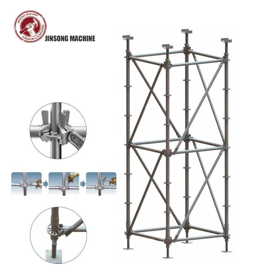 Ringlock Scaffolding System For Construction