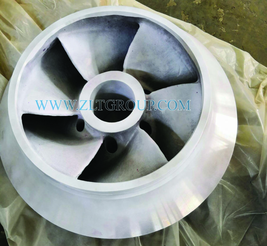 Impeller in Dye Pene