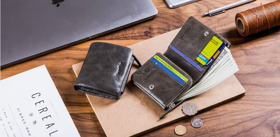 leather wallet manuf