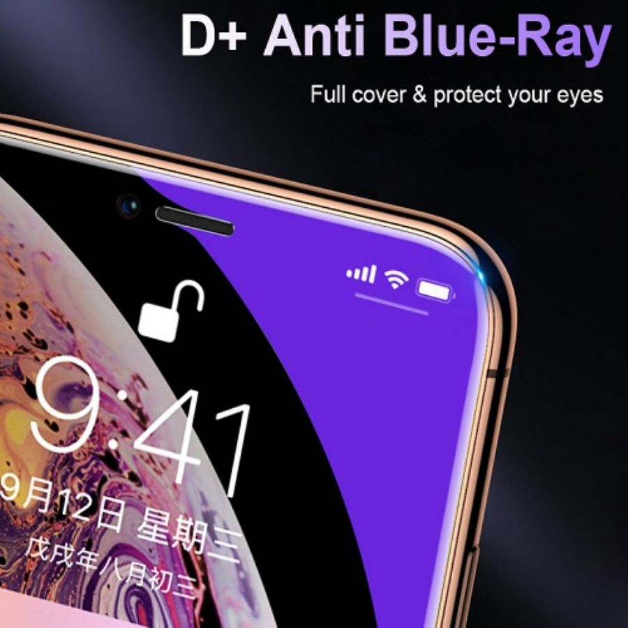 D+  Full Covered Anti-blue Light Glass Screen Protector