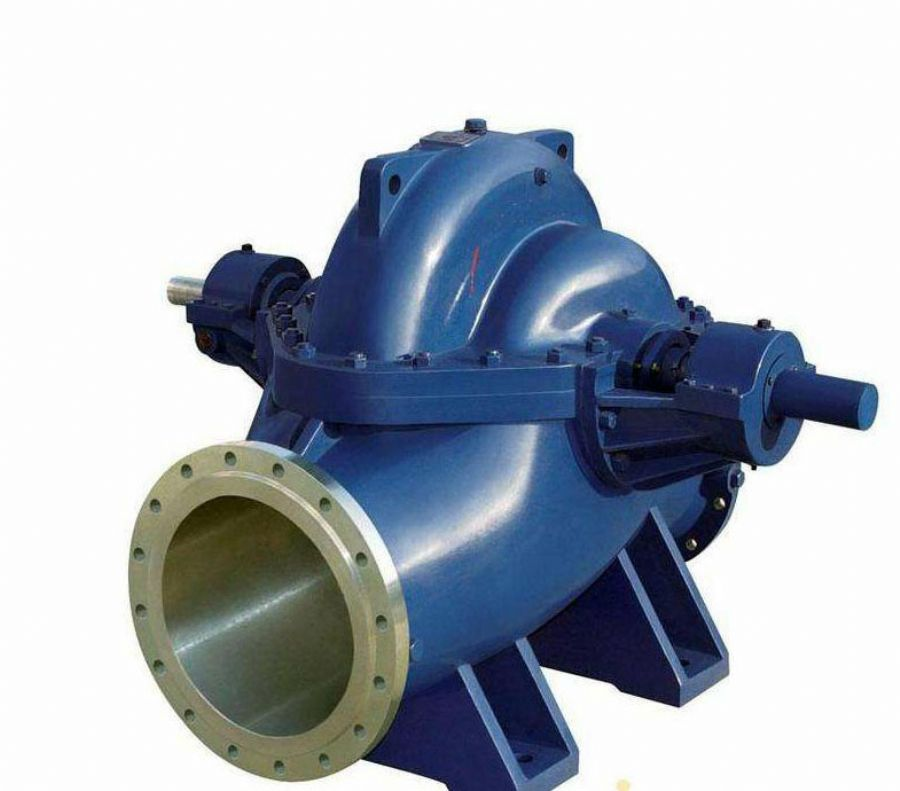 Double suction pump