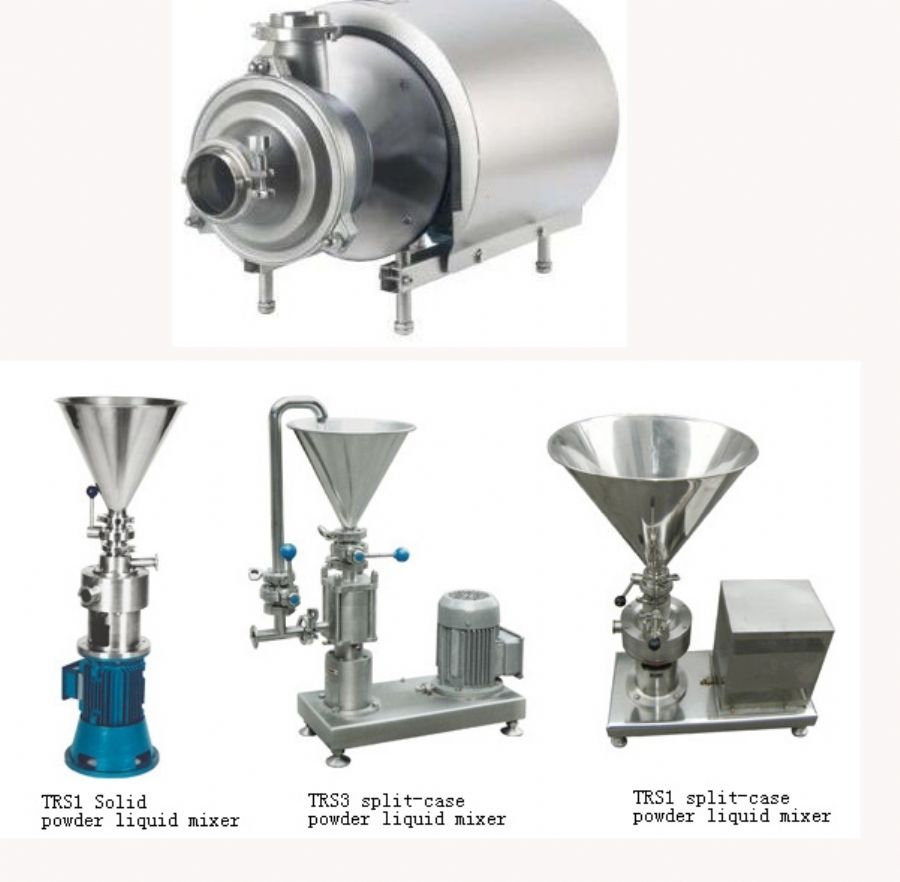 Sanitary Pumps Self-Priming Pump Sanitary Blender