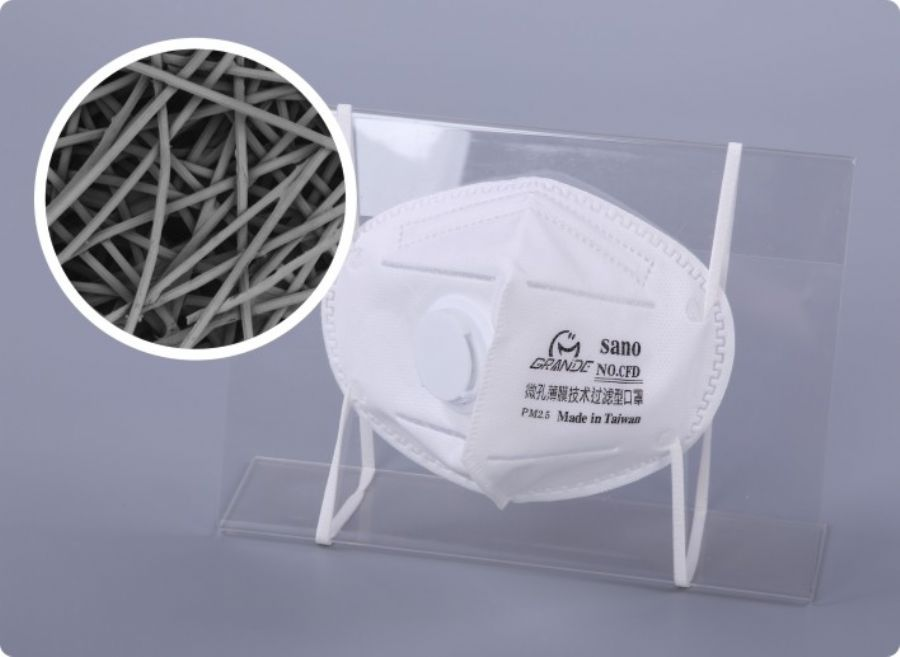 ePTFE air purification composite material