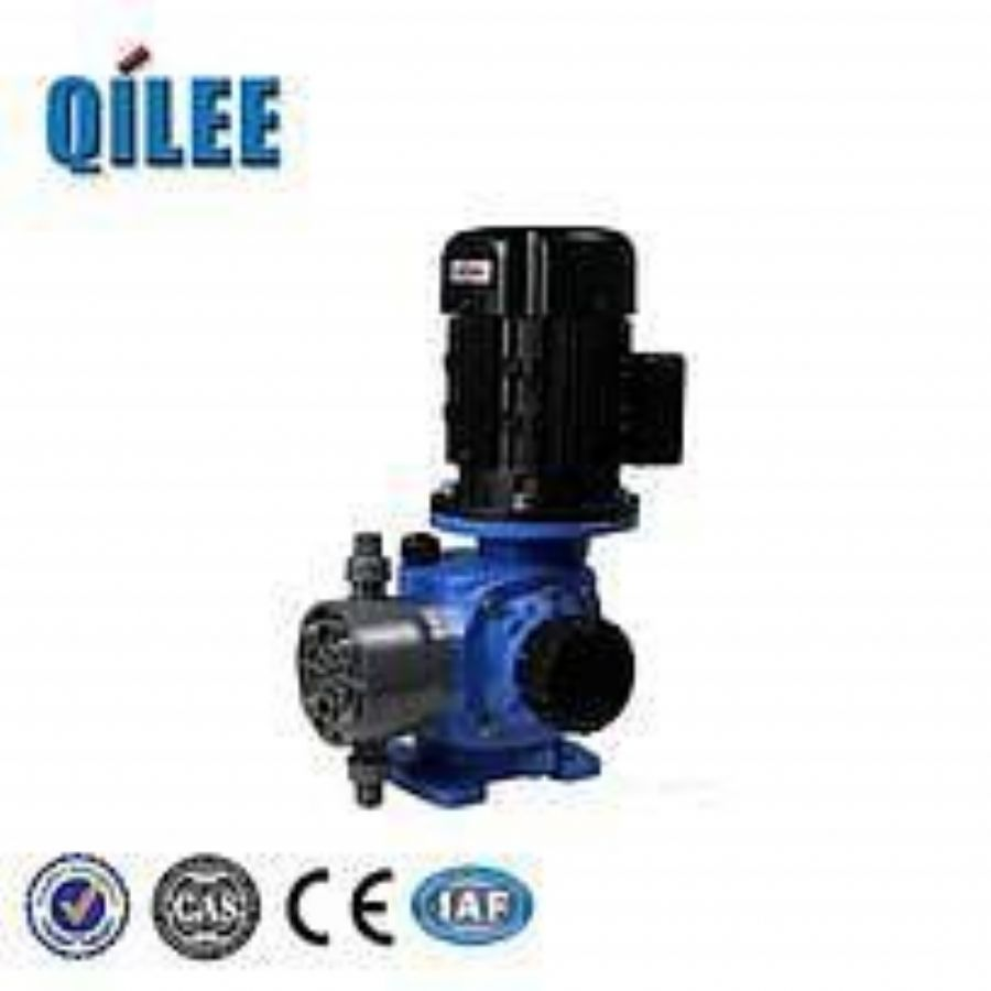 Miniature Double Diaphragm Caustic Metering Pump