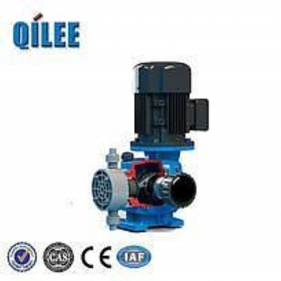 Plastic Low Flow High Pressure Solenoid Diaphragm Metering Pump