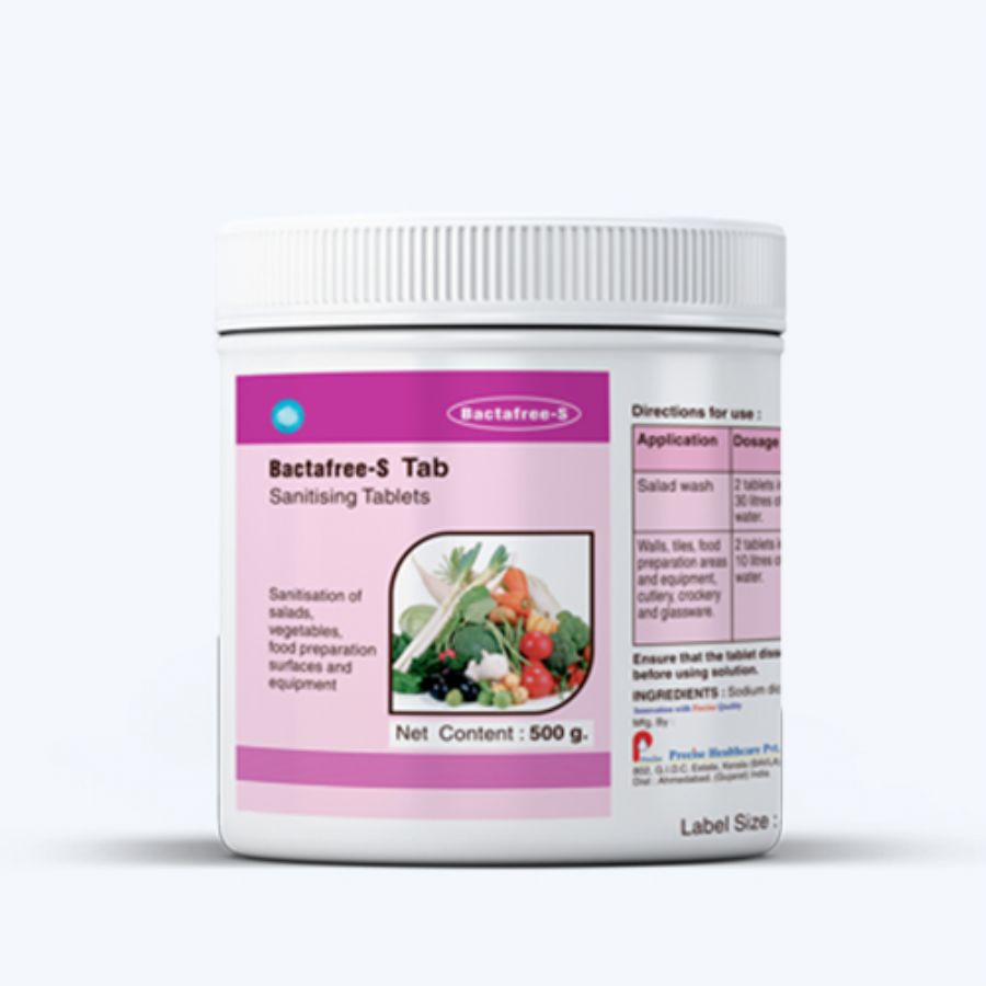 Bactafree-S tablets