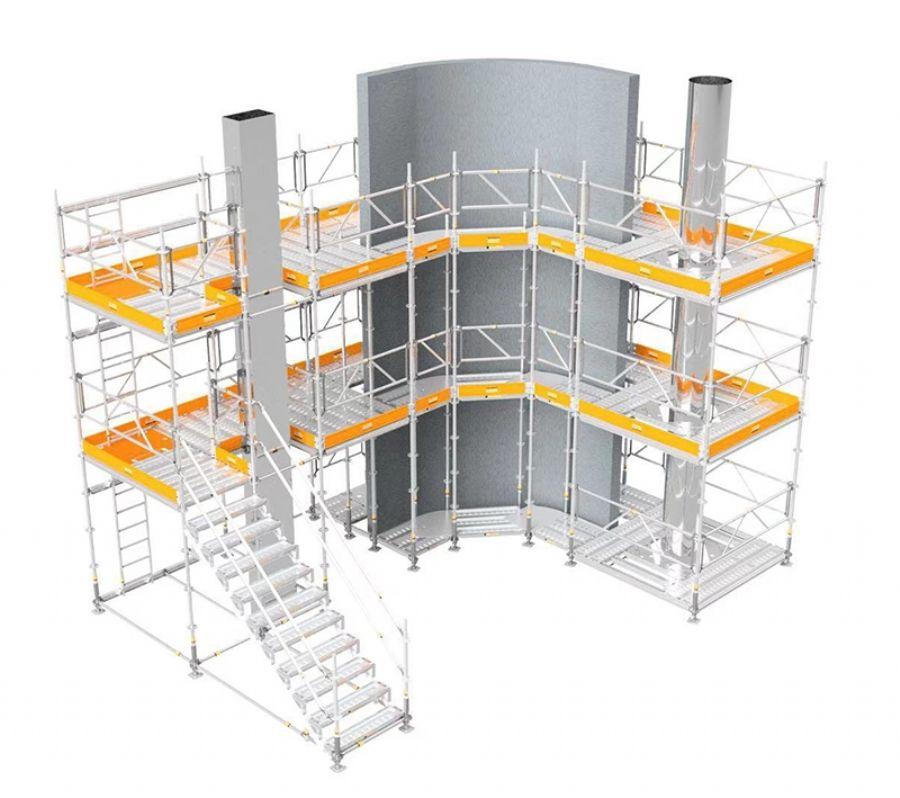 aluminum scaffolds